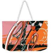 1921 - Van Hauwaert Bicycle Belgian Advertisement Poster - Color Weekender Tote Bag