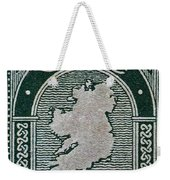 1922 Ireland Eire Stamp Weekender Tote Bag