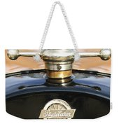 1922 Studebaker Touring Hood Ornament Weekender Tote Bag by Jill Reger