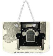 1924 - Buick Six Advertisement Weekender Tote Bag