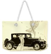 1924 - Rickenbacker Automobile Advertisement Weekender Tote Bag