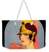 1924 - Theatre Magazine Cover - Color Weekender Tote Bag