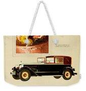1926 - Packard Automobile Advertisement - Color Weekender Tote Bag