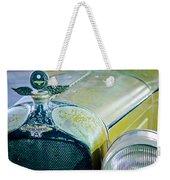 1926 Duesenberg Hood Ornament - Motometer Weekender Tote Bag