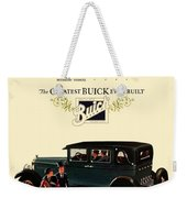 1927 - Buick Automobile - Color Weekender Tote Bag