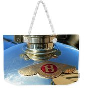 1927 Bentley Hood Ornament Weekender Tote Bag