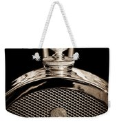 1927 Bugatti Replica Hood Ornament - Emblem Weekender Tote Bag
