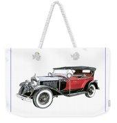 1927 La Salle Dual Cowl Phaeton Weekender Tote Bag