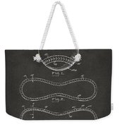 1928 Baseball Patent Artwork - Gray Weekender Tote Bag