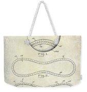 1928 Baseball Patent Drawing  Weekender Tote Bag