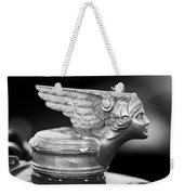 1928 Buick Custom Speedster Hood Ornament 3 Weekender Tote Bag by Jill Reger