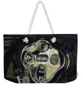 1928 Ford Model A Tudor Interior Weekender Tote Bag