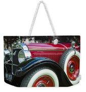 1928 Hupmobile Century Model E4 4 Door Sedan Weekender Tote Bag