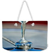 1928 Nash Coupe Hood Ornament 2 Weekender Tote Bag