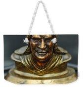 1928 Pontiac Hood Ornament  Weekender Tote Bag