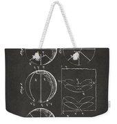 1929 Basketball Patent Artwork - Gray Weekender Tote Bag