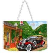 1929 Cadillac Dual Cowl Phaeton And Pegasus Weekender Tote Bag