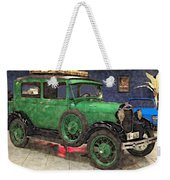 1929 Ford Model A By Liane Wright Weekender Tote Bag
