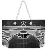 1929 Mercedes-benz S Erdmann - Rossi Cabiolet Hood Ornament Weekender Tote Bag