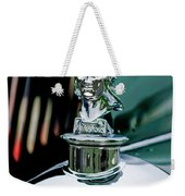 1929 Minerva Hood Ornament Weekender Tote Bag