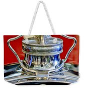 1929 Packard 8 Hood Ornament 2 Weekender Tote Bag