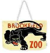 1930 - Brookfield Zoo Poster - Boston - Color Weekender Tote Bag