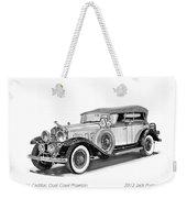1931 Cadillac Phaeton Weekender Tote Bag by Jack Pumphrey