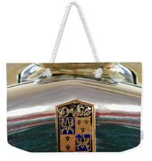 1930 Desoto K Hood Ornament Emblem Weekender Tote Bag