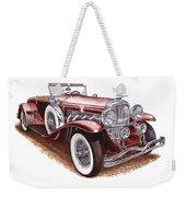 1930 Dusenberg Model J Weekender Tote Bag