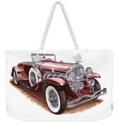 1930 Dusenberg Model J Weekender Tote Bag