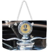 1930 Ford Model A - Hood Ornament - 7488 Weekender Tote Bag