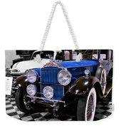 1930 Packard Limousine Weekender Tote Bag