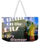 1930's Glamour Weekender Tote Bag