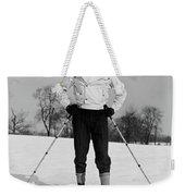 1930s Man Looking At Camera Posing Weekender Tote Bag