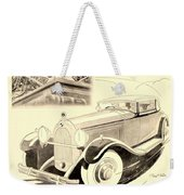 1931 - Talbot French Automobile Advertisement Weekender Tote Bag