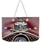 1931 Alfa-romeo Hood Ornament Weekender Tote Bag