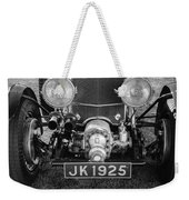 1931 Bentley 4.5 Liter Supercharged Le Mans Grille Weekender Tote Bag