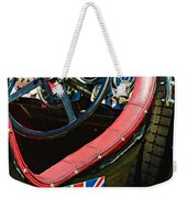 1931 Bentley 4.5 Liter Supercharged Le Mans Steering Wheel -1255c Weekender Tote Bag