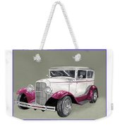 1931 Ford 2 Door Sedan Street-rod Weekender Tote Bag