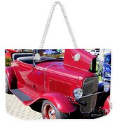 1931 Ford With Rumble Seat Weekender Tote Bag