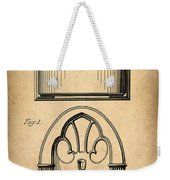 1931 Philco Radio Patent Weekender Tote Bag