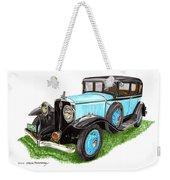 1931 Studebaker President Weekender Tote Bag