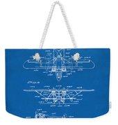 1932 Amphibian Aircraft Patent Blueprint Weekender Tote Bag