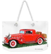1932 Cadillac Rumbleseat Coupe Weekender Tote Bag