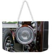 1932 Ford Roadster Head Lamp View Weekender Tote Bag