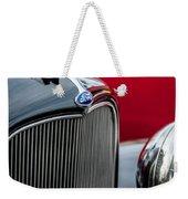 1932 Ford V8 Grille - Hood Ornament Weekender Tote Bag