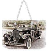 1932 Packard 903 Victoria Weekender Tote Bag
