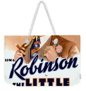 1933 - The Little Giant - Warner Brothers Movie Poster - Edward G Robinson - Color Weekender Tote Bag