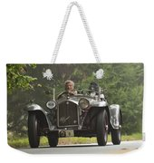 1933 Alfa Romeo 8c Corto Touring Spyder Weekender Tote Bag by Jill Reger