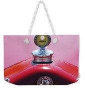1933 Alfa Romeo P-2 Monza Hood Ornament Weekender Tote Bag